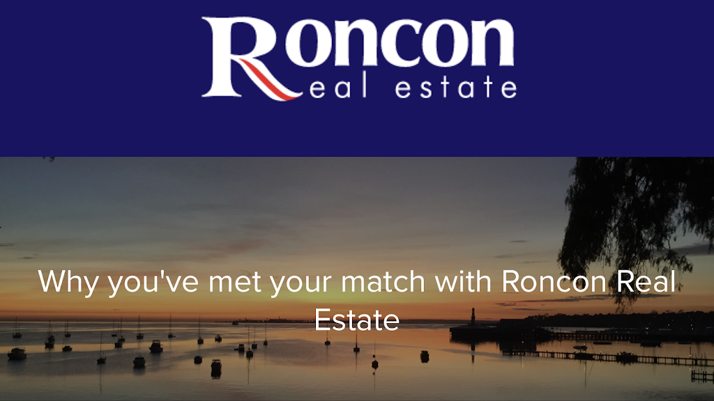 Roncon Real Estate | real estate agency | 27 Melbourne Rd, Drumcondra VIC 3215, Australia | 0352770250 OR +61 3 5277 0250