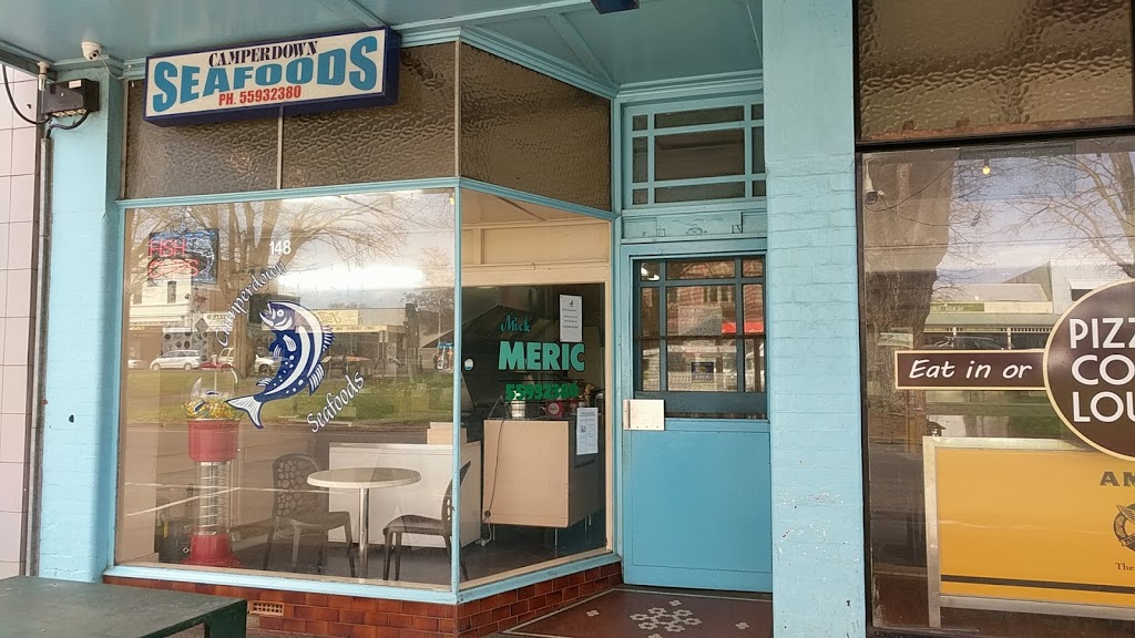 Camperdown Seafoods | meal takeaway | 148 Manifold St, Camperdown VIC 3260, Australia | 0355932380 OR +61 3 5593 2380