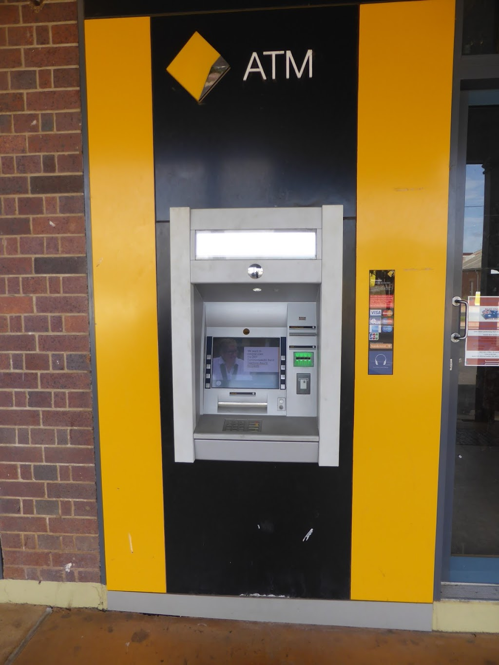 CBA ATM (Street Front) | atm | 56A Murilla St, Miles QLD 4415, Australia | 132221 OR +61 132221