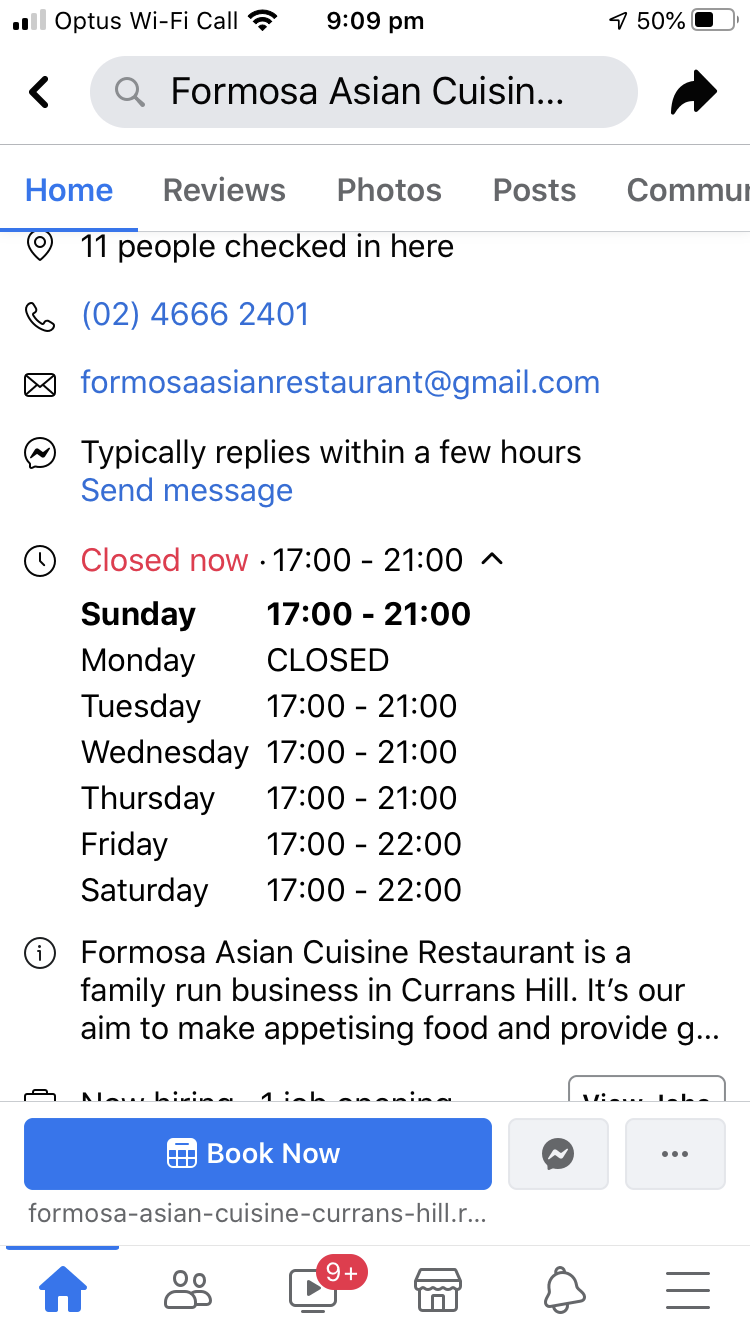 Formosa Asian Cuisine Restaurant | restaurant | Shop 2/5 Iando Way, Currans Hill NSW 2567, Australia | 0246662401 OR +61 2 4666 2401