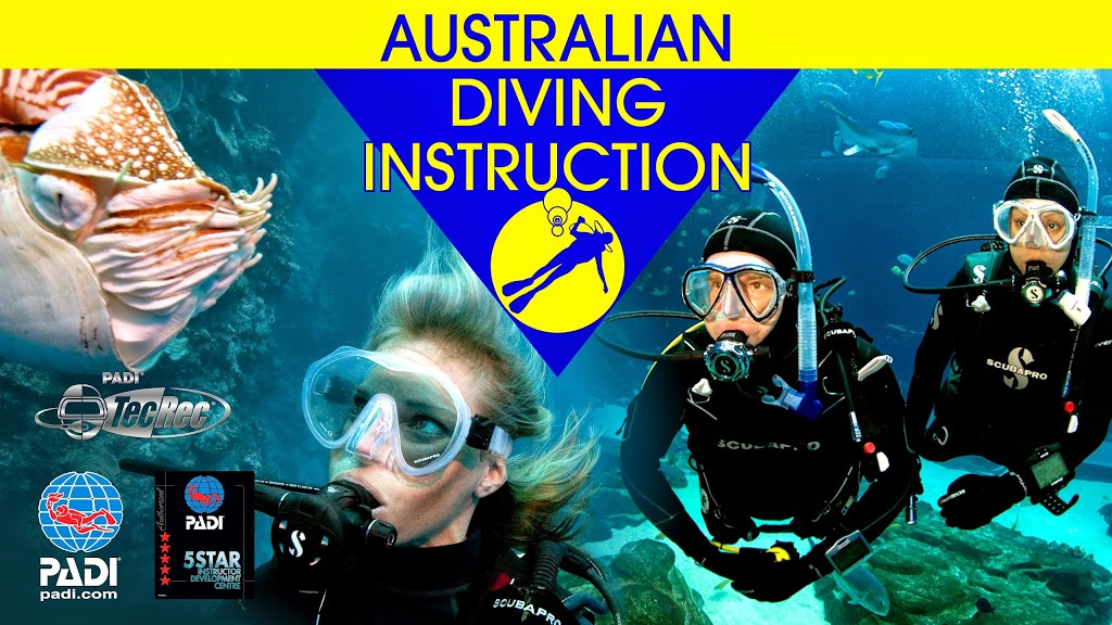 Australian Diving Instruction | travel agency | 31 Melbourne Rd, Geelong VIC 3215, Australia | 0352722181 OR +61 3 5272 2181