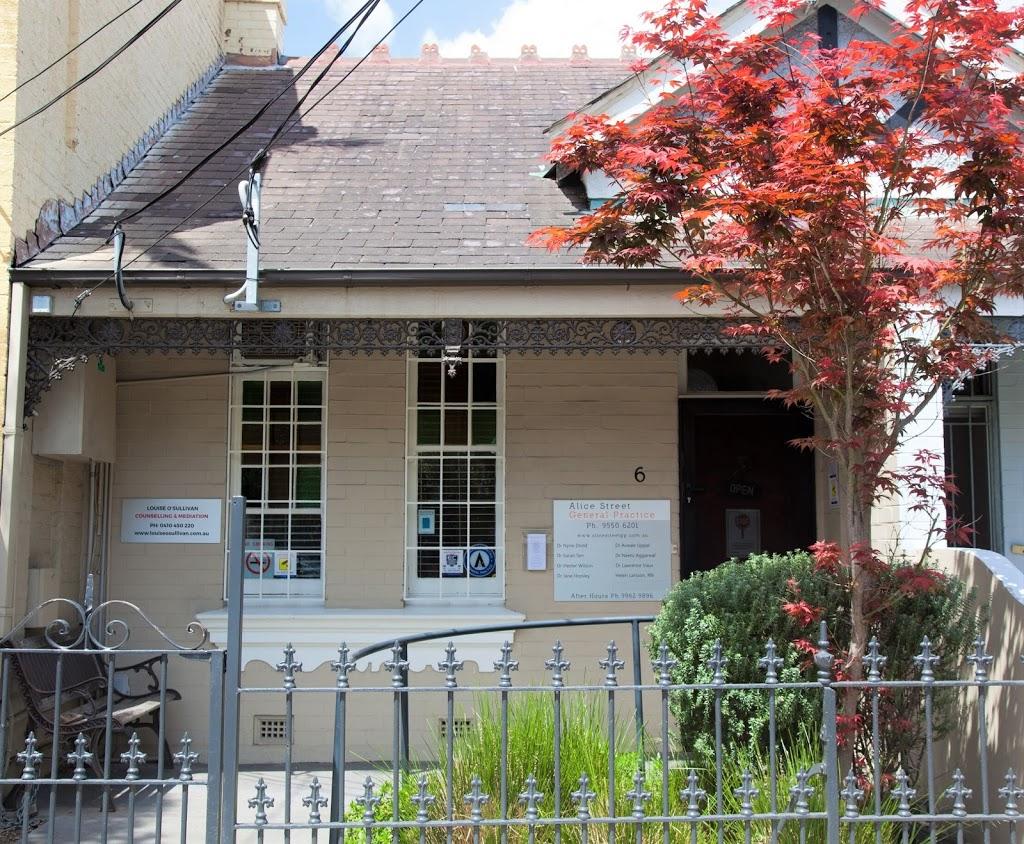 Alice Street General Practice. | hospital | 6 Alice St, Newtown NSW 2042, Australia | 0295506201 OR +61 2 9550 6201