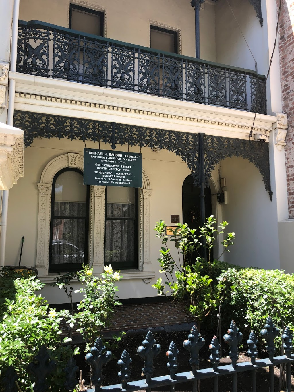Michael J Barone - Solicitor & Tax Agent | lawyer | 518 Rathdowne St, Carlton North VIC 3054, Australia | 0393870106 OR +61 3 9387 0106