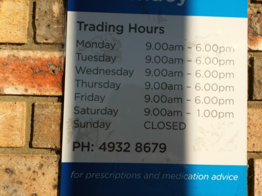 Telarah Pharmacy   pharmacy   Shop 6/34 South St, Telarah NSW 2320, Australia   0249328679 OR +61 2 4932 8679