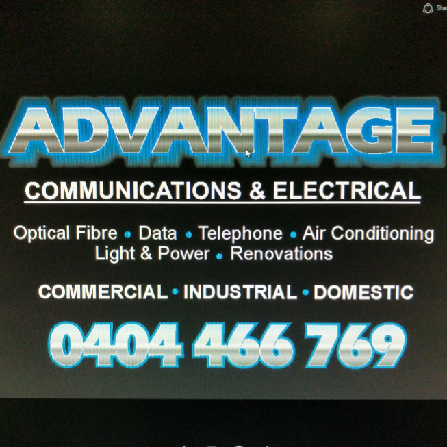 Advantage Communications & Electrical | electrician | 9 Depot St, Maroochydore QLD 4558, Australia | 0754438144 OR +61 7 5443 8144