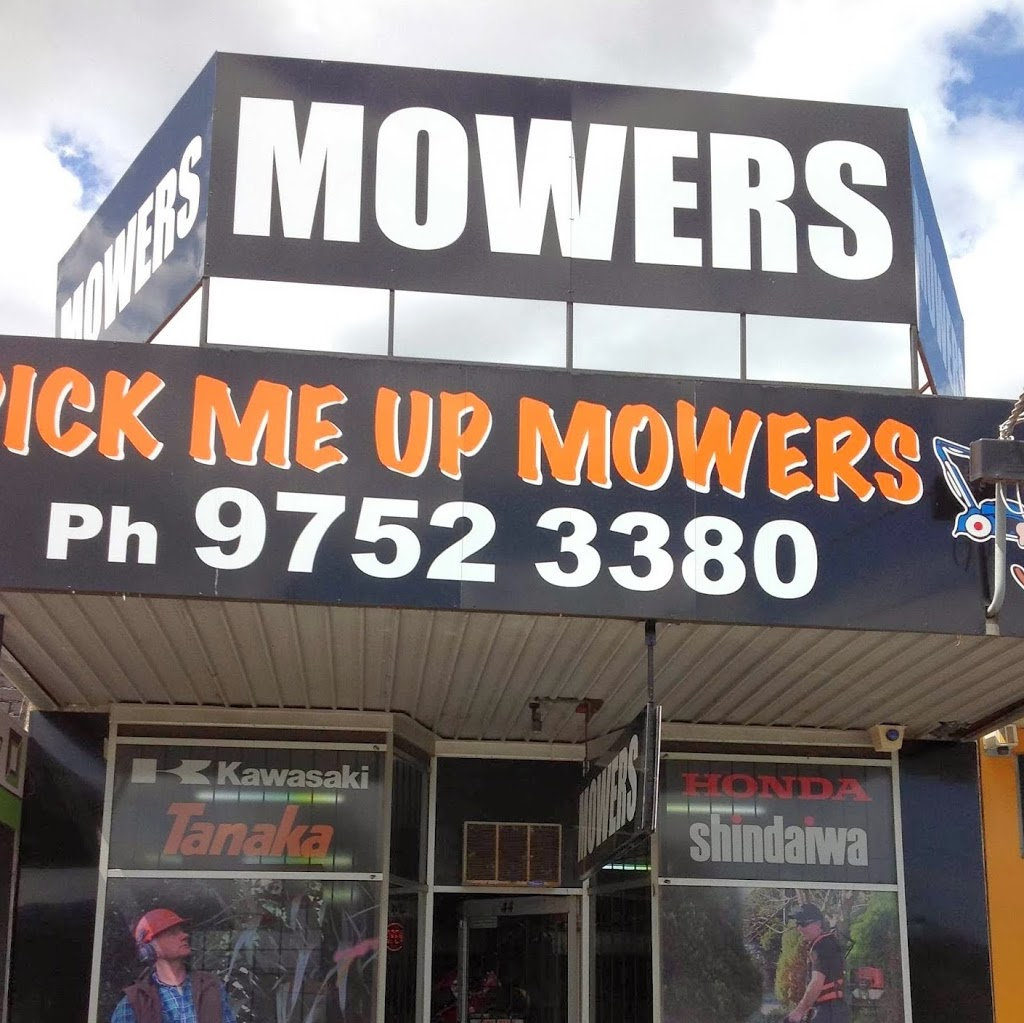 Pick Me Up Mowers | store | 44 Forest Rd, Ferntree Gully VIC 3156, Australia | 0397581367 OR +61 3 9758 1367