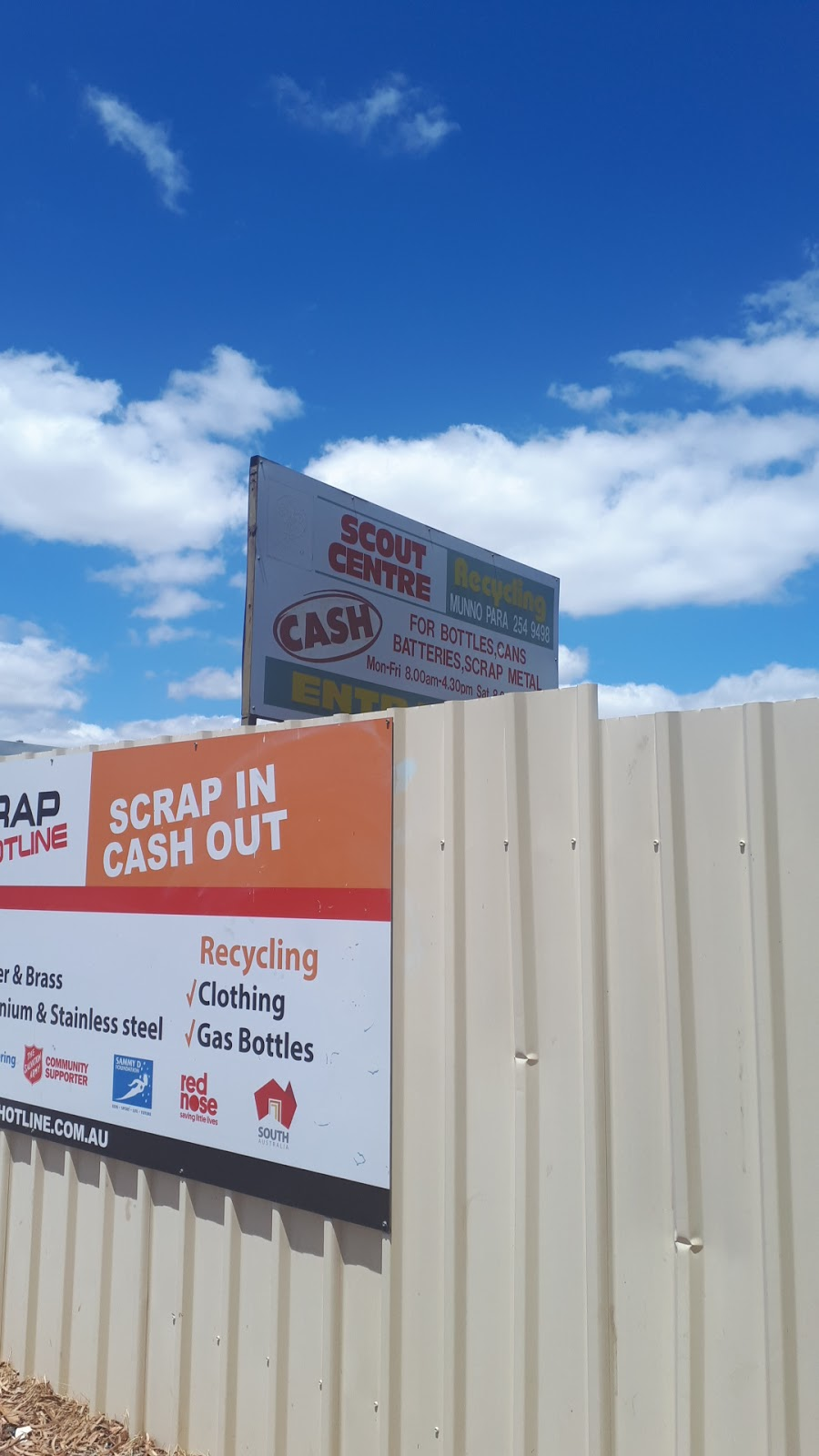 Scout Recycling Centre   point of interest   43 Anderson Walk, Smithfield SA 5114, Australia   0882549498 OR +61 8 8254 9498