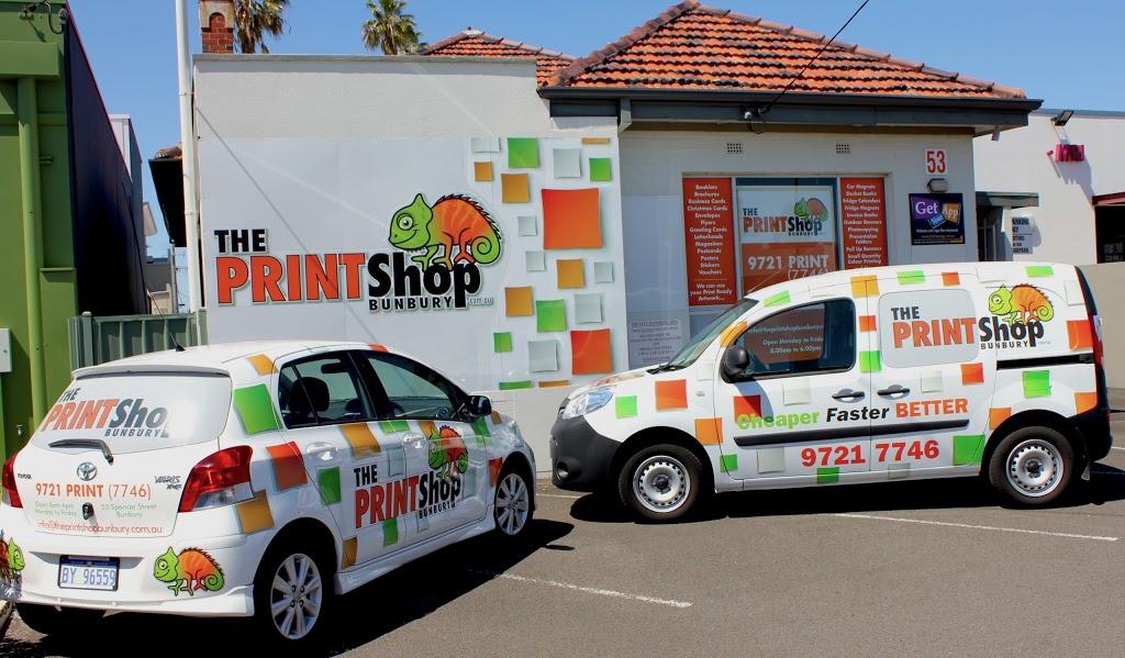 The Print Shop Bunbury - Cheaper Faster Better | store | 53 Spencer St, Bunbury WA 6230, Australia | 0897217746 OR +61 8 9721 7746