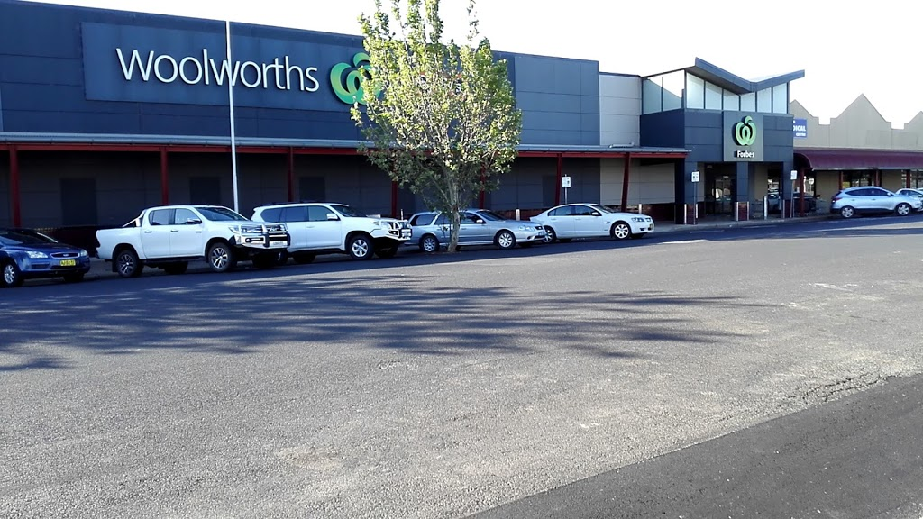 Woolworths Forbes | store | 134 Rankin St, Forbes NSW 2871, Australia | 0268508400 OR +61 2 6850 8400