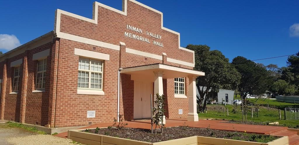 Inman Valley Memorial Hall   city hall   1713 Inman Valley Rd, Inman Valley SA 5211, Australia   0885588242 OR +61 8 8558 8242