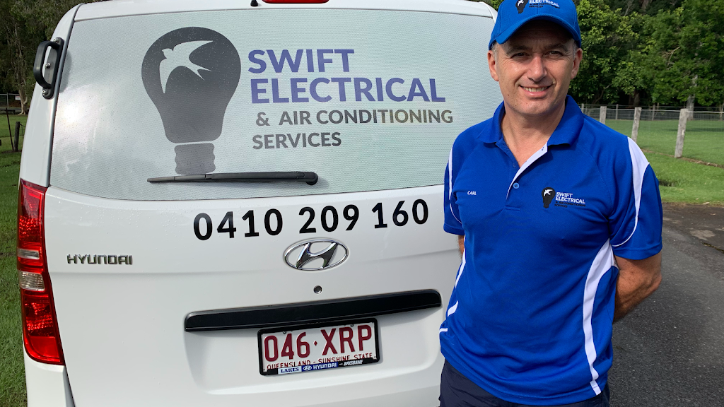 Swift Electrical and Air Conditioning Services | electrician | 29 Cranfield Dr, Buderim QLD 4556, Australia | 0410209160 OR +61 410 209 160