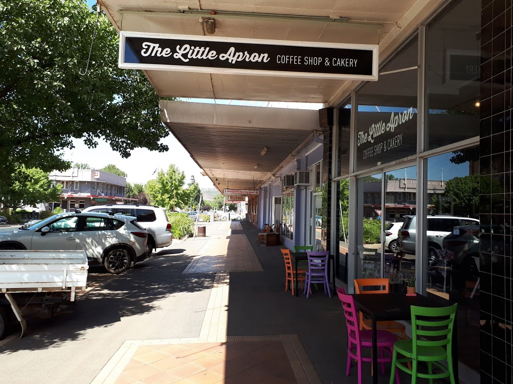 The Little Apron Coffee Shop and Cakery   cafe   265 Parker St, Cootamundra NSW 2590, Australia   0431163988 OR +61 431 163 988