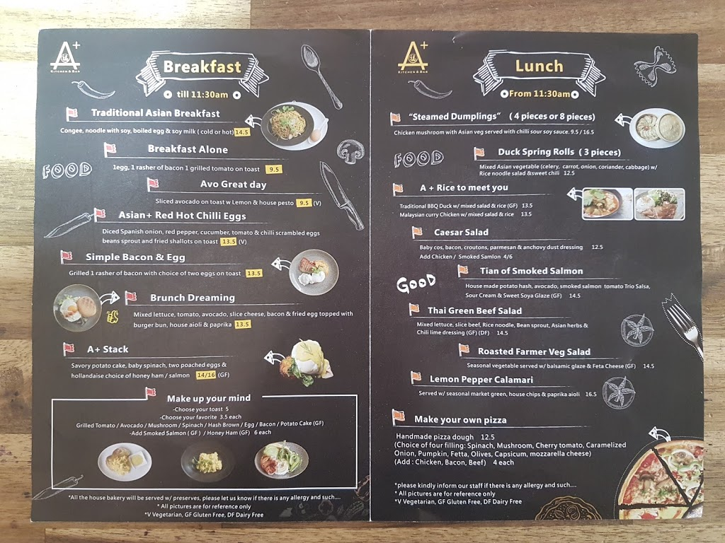 Asian Plus Kitchen & Bar | restaurant | Shop 1A-05 Skygate Dining, 1/5 The Cct, Brisbane Airport QLD 4008, Australia | 0425328882 OR +61 425 328 882