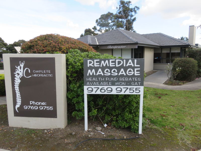 Complete Chiropractic | health | 60 Clyde Rd, Berwick VIC 3806, Australia | 0397699755 OR +61 3 9769 9755