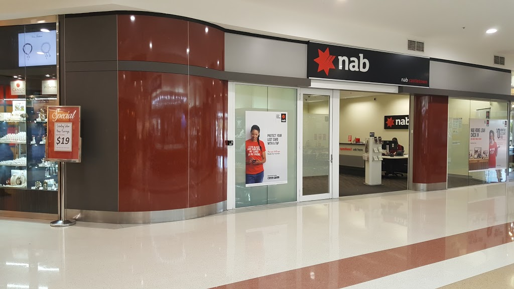 NAB branch | bank | Castletown Shopping Centre, 35 Kings Rd, Hyde Park QLD 4812, Australia | 132265 OR +61 132265