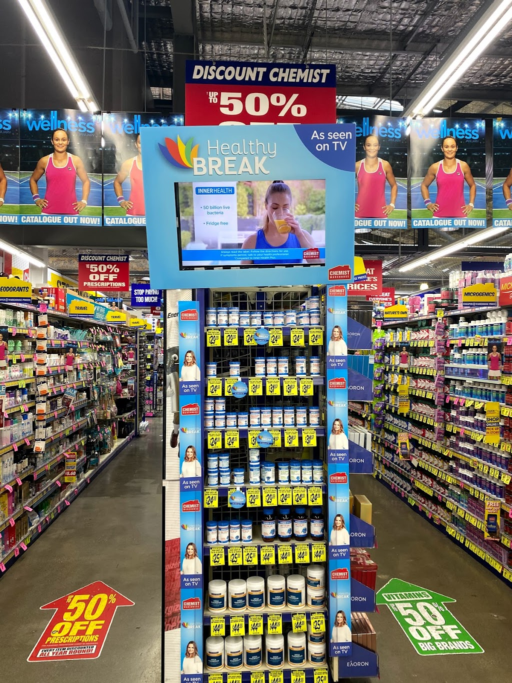 Chemist Warehouse Spencer Outlet Centre | health | MM2/201 Spencer St, Docklands VIC 3008, Australia | 0396420598 OR +61 3 9642 0598