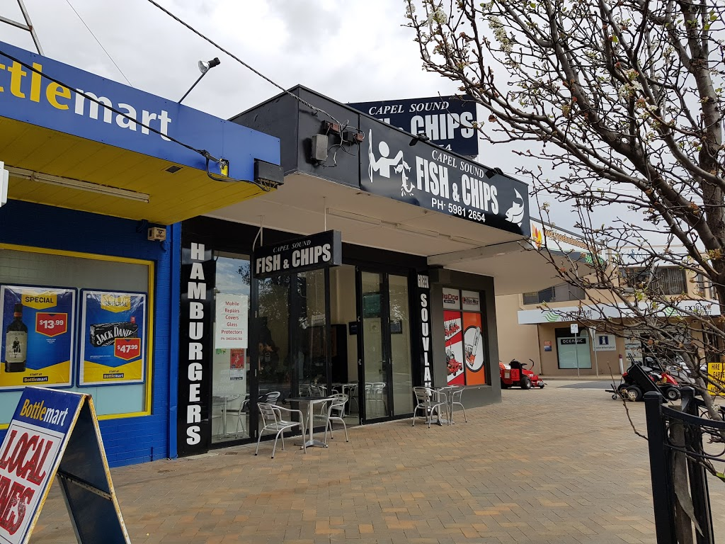 Capel Sound Fish and Chips | meal takeaway | 1617 Point Nepean Rd, West Rosebud VIC 3940, Australia | 0359812654 OR +61 3 5981 2654