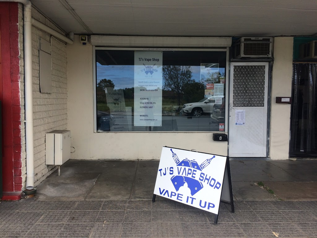 TJ's Vape Shop - Store | 4/50 O G Rd, Klemzig SA 5087, Australia