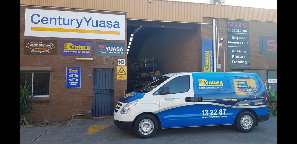 Century Batteries | car repair | 10/30 Swan St, Wollongong NSW 2500, Australia | 0242253061 OR +61 2 4225 3061