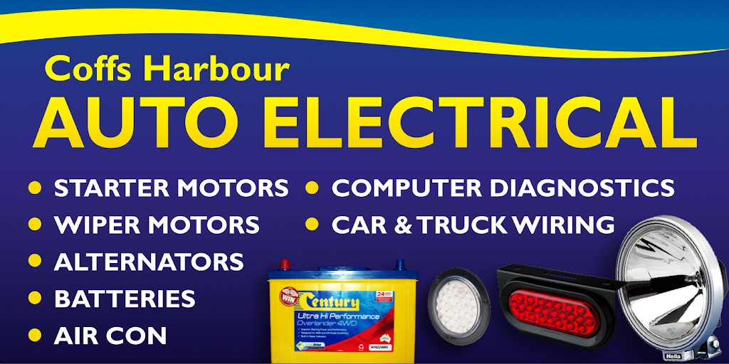 Coffs Harbour Auto Electrical | car repair | 164 Pacific Hwy, Coffs Harbour NSW 2450, Australia | 0266514476 OR +61 2 6651 4476