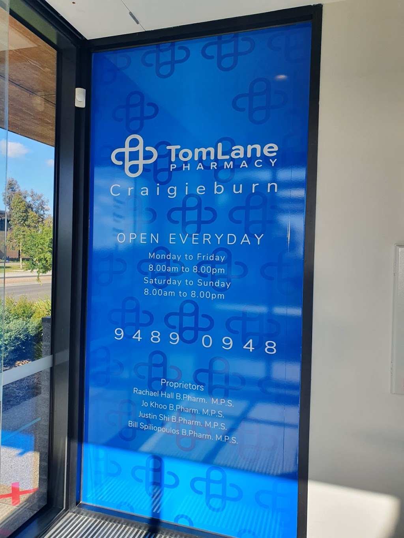 Tom Lane Pharmacy Craigieburn   pharmacy   co-located with Craigieburn Medical Centre, 70 Central Park Ave, Craigieburn VIC 3064, Australia   0394890948 OR +61 3 9489 0948
