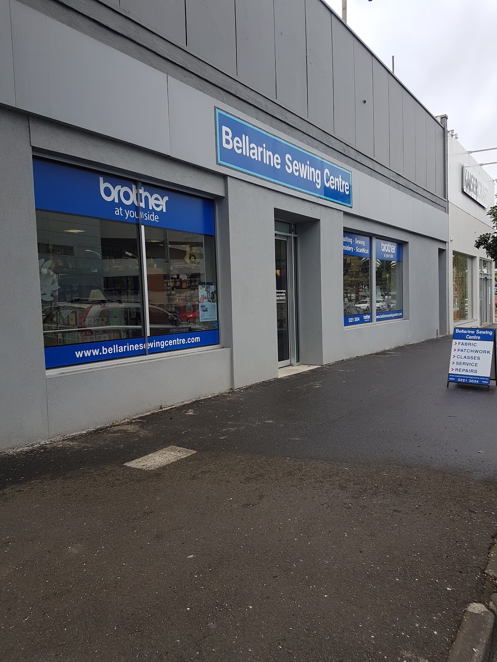 Bellarine Sewing Centre | home goods store | 395 Moorabool St, South Geelong VIC 3220, Australia | 0352213034 OR +61 3 5221 3034