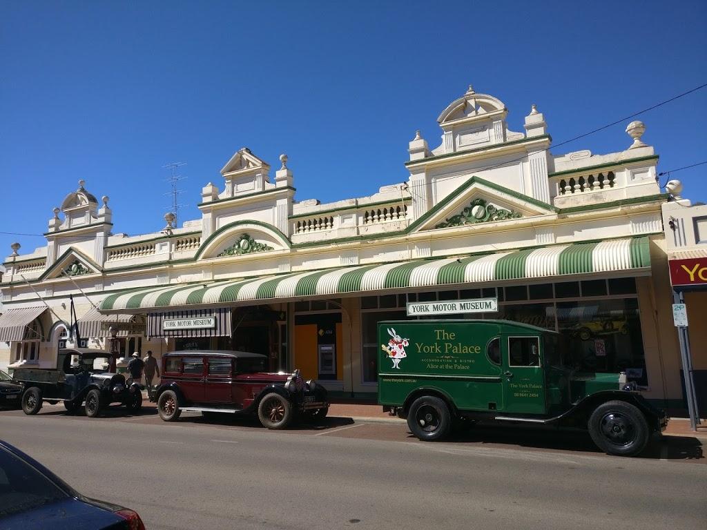 York Motor Museum   museum   116 Avon Terrace, York WA 6302, Australia   0896411288 OR +61 8 9641 1288