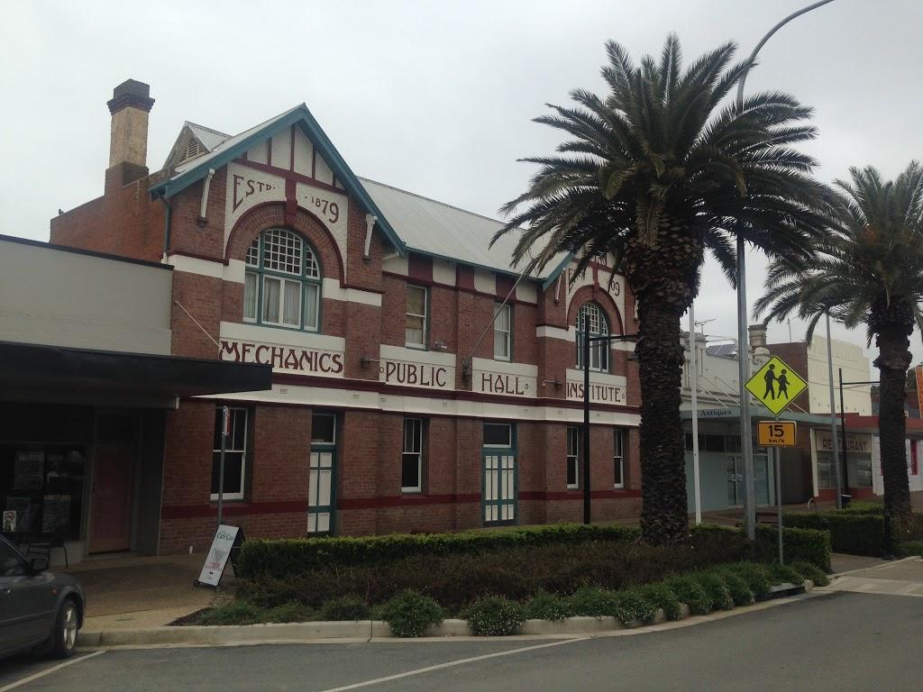 The Mechanics Institute   museum   31/39-41 Neill St, Harden NSW 2587, Australia