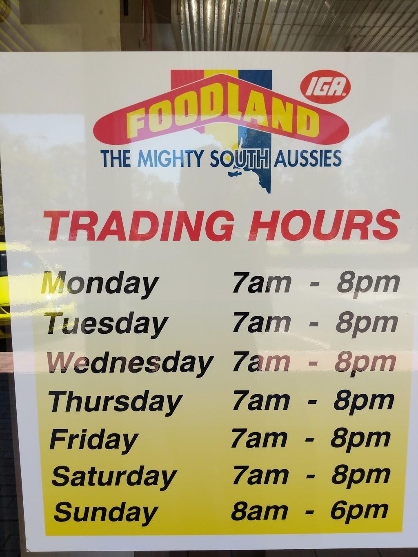 Foodland | store | 25 Ral Ral Ave, Renmark SA 5341, Australia | 0885866741 OR +61 8 8586 6741
