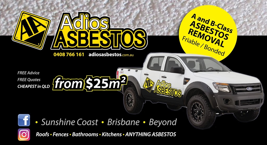 Adios Asbestos Removal Sunshine Coast | roofing contractor | 36 Forestwood Dr, Buderim QLD 4556, Australia | 0408766161 OR +61 408 766 161