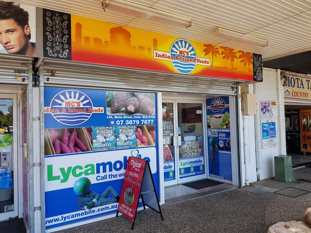 M.Cs Indian & Island Foods | store | 149 Biota St, Inala QLD 4077, Australia | 0738797877 OR +61 7 3879 7877