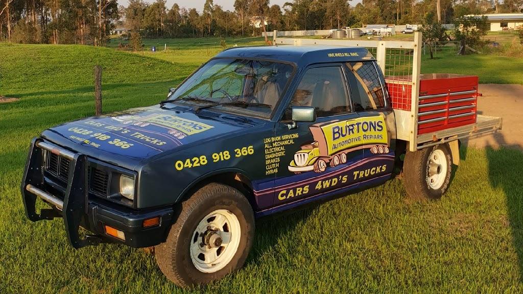 Burtons Automotive Repairs | car repair | 29 Clarkson Dr, Curra QLD 4570, Australia | 0428918366 OR +61 428 918 366
