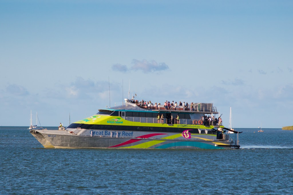 Big Cat Green Island Reef Cruises | travel agency | Reef Fleet Terminal, 1 Spence St, Cairns City QLD 4870, Australia | 0740510444 OR +61 7 4051 0444