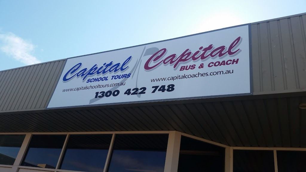 Capital Coaches   point of interest   27 Mulley St, Holder ACT 2611, Australia   1300422748 OR +61 1300 422 748