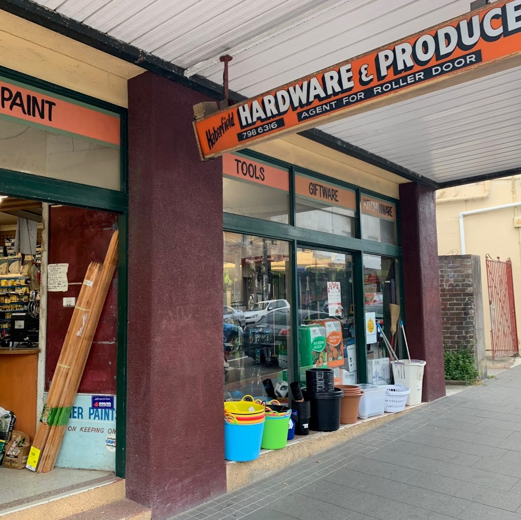 Haberfield Hardware | hardware store | 163 Ramsay St, Haberfield NSW 2045, Australia | 0297986316 OR +61 2 9798 6316