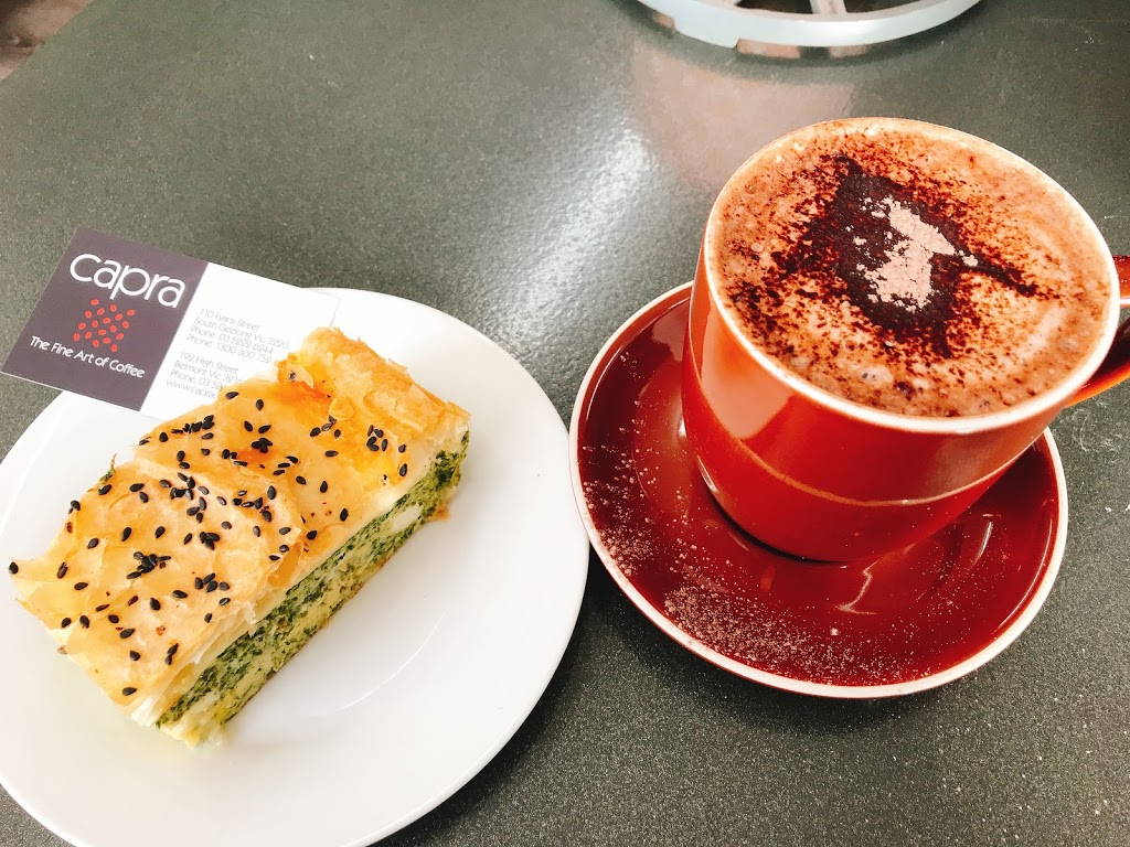 Capra Coffee | cafe | 110 Fyans St, South Geelong VIC 3220, Australia | 0352226244 OR +61 3 5222 6244