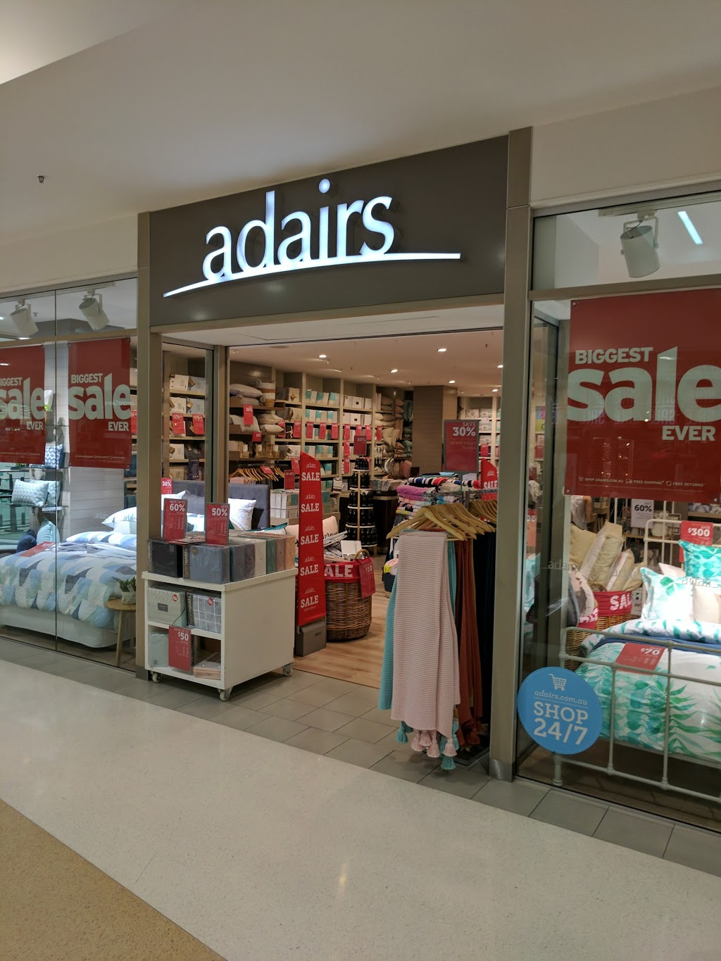 Adairs Castletown Towers | home goods store | 121/35 Kings Rd, Pimlico QLD 4812, Australia | 0256226011 OR +61 2 5622 6011