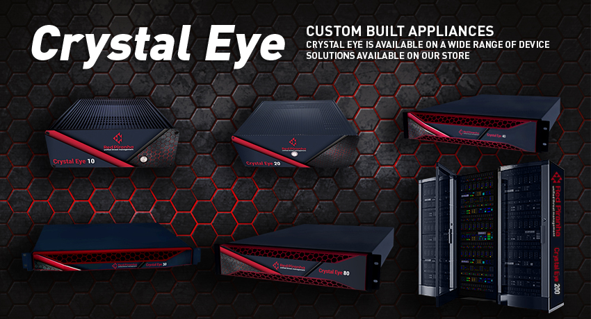 Red Piranha - Crystal Eye UTM   electronics store   Level 11, 125 St Georges Tce Perth, WA, Australia 6000, Australia   0863650450 OR +61 8 6365 0450
