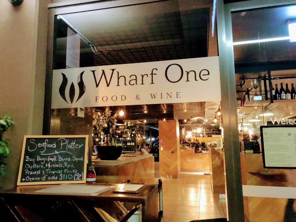 Wharf One Food & Wine   restaurant   Building, 3/19 Kitchener Dr, Darwin Waterfront NT 0801, Australia   0889410033 OR +61 8 8941 0033