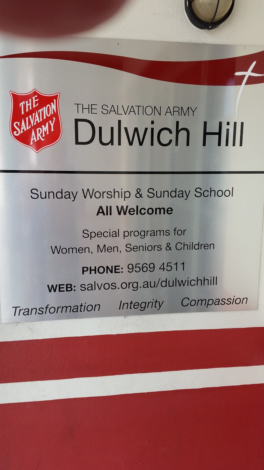 Dulwich Hill Corps | church | 54 Dulwich St, Dulwich Hill NSW 2203, Australia | 0295694511 OR +61 2 9569 4511