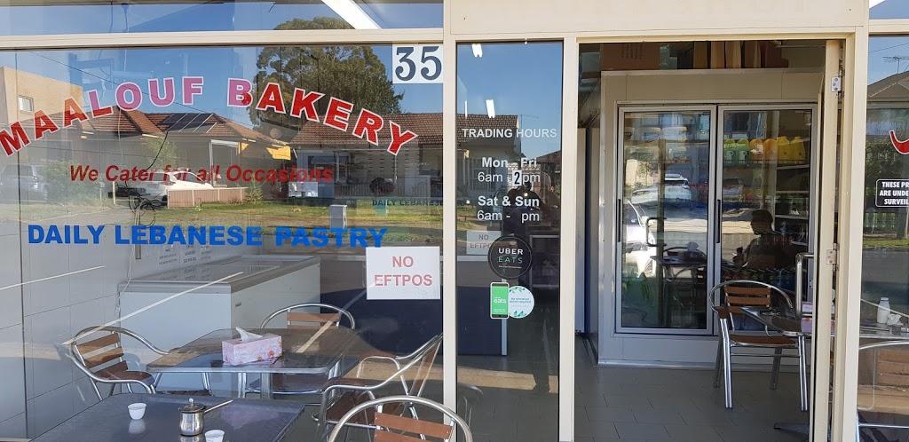 Maalouf Bakery | bakery | 35 Irrigation Rd, Merrylands NSW 2160, Australia | 0297691117 OR +61 2 9769 1117