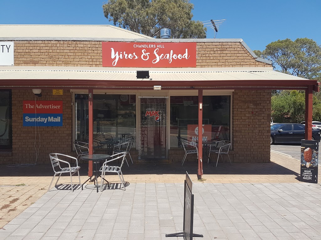 Chandlers Hill Yiros And Seafood | restaurant | 194 Chandlers Hill Rd, Happy Valley SA 5159, Australia | 0883811088 OR +61 8 8381 1088