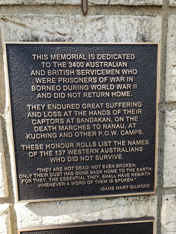 Sandakan War Memorial | park | Kings Park and Botanic Garden, Marri Walk, Kings Park WA 6005, Australia