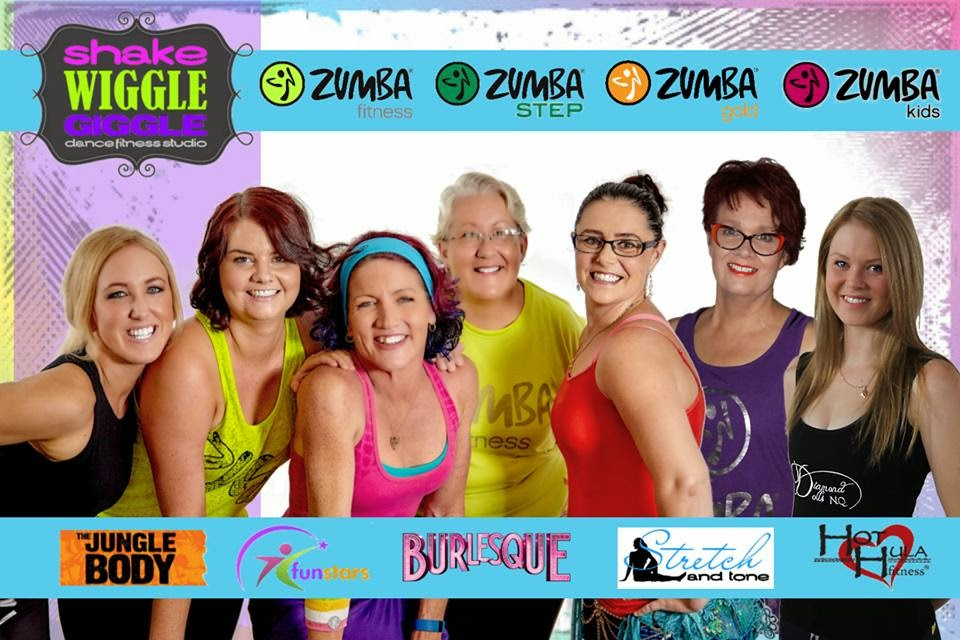 Shake Wiggle Giggle - Zumba Townsville | health | 1/3 Woodman Ct, West End QLD 4810, Australia | 0412570868 OR +61 412 570 868