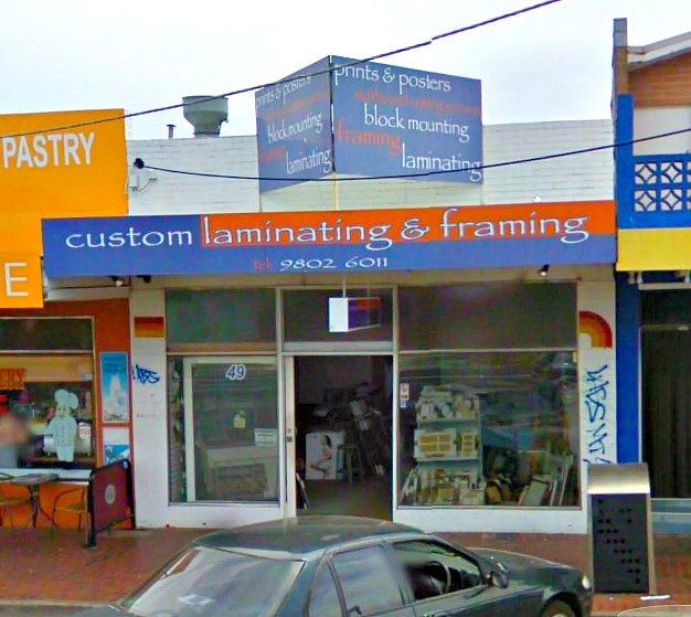 Custom Laminating Services | store | 49 Blackburn Rd, Mount Waverley VIC 3149, Australia | 0398026011 OR +61 3 9802 6011