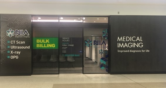 NIA Diagnostic Imaging | doctor | Shop 36, Glenquarie Town Centre Cnr Victoria Rd &, Brooks St, Macquarie Fields NSW 2564, Australia | 0291588660 OR +61 2 9158 8660