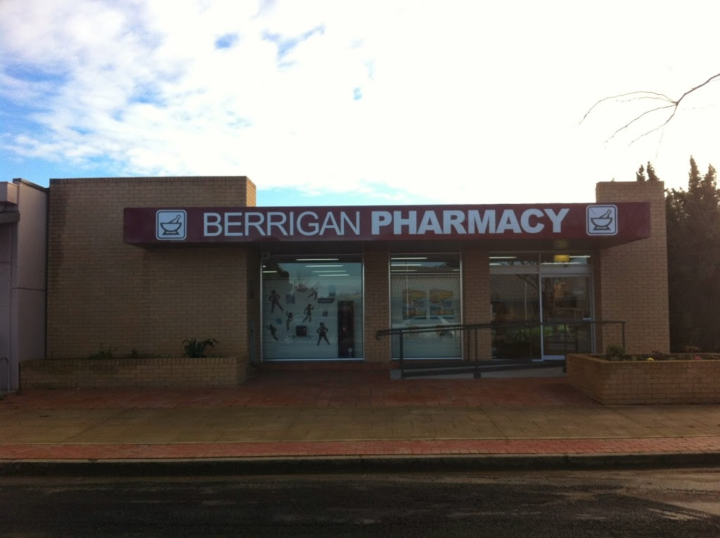 Berrigan Pharmacy | health | 67/69 Chanter St, Berrigan NSW 2712, Australia | 0358852400 OR +61 3 5885 2400