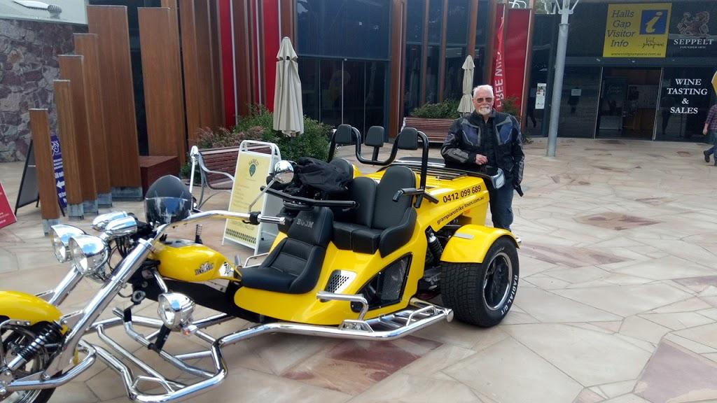 Grampians trike tours | museum | 117-119 Grampians Rd, Halls Gap VIC 3381, Australia | 0412099689 OR +61 412 099 689