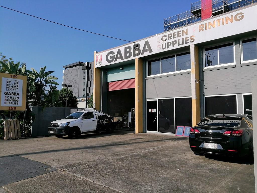 Gabba Screen Printing Supplies | store | 189 Wellington Rd, East Brisbane QLD 4169, Australia | 0738915080 OR +61 7 3891 5080