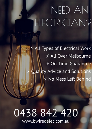BWired Electrical Services | electrician | Lower Heidelberg Rd, Ivanhoe East VIC 3079, Australia | 0438842420 OR +61 438 842 420